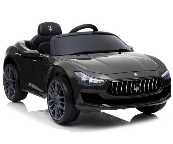 Laste elektriauto Maserati Ghibli 2x45W must, puldiga