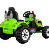Laste elektriline traktor Kingdom 2X45W, roheline