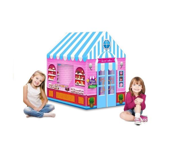 Laste mängutelk _Maiustuste pood_, 103x93, roosa_2