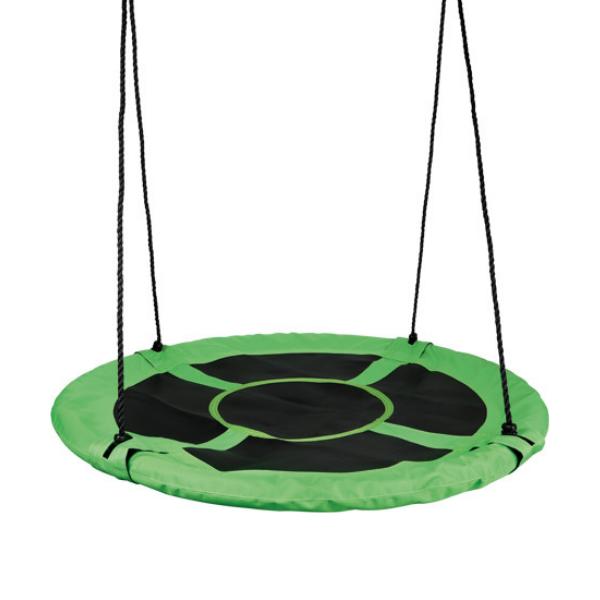 Pesakiik Basket roheline/must Ø98cm
