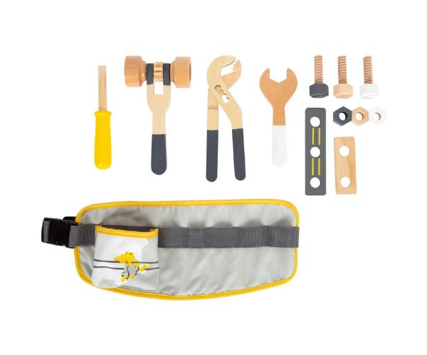 Laste tööriistavöö puidust tarvikutega, Miniwob (2)