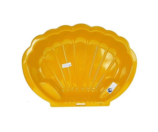 Liivakast merekarbi kujuline, kollane (2)