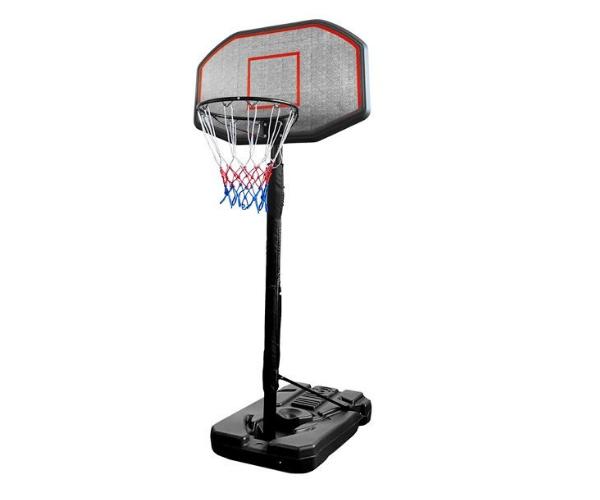Teisaldatav ratastel korvpallilaud + korvirõngas