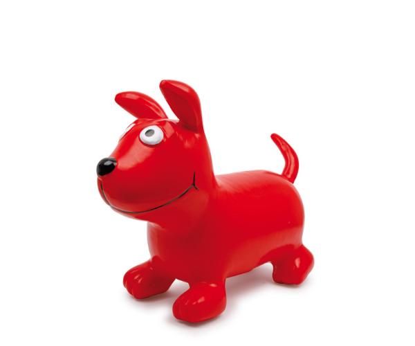 Hüppeloom koer Bodo, punane (2)
