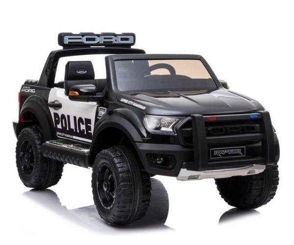 Laste elektriauto Ford Raptor Police 2x45W, 2-kohaline