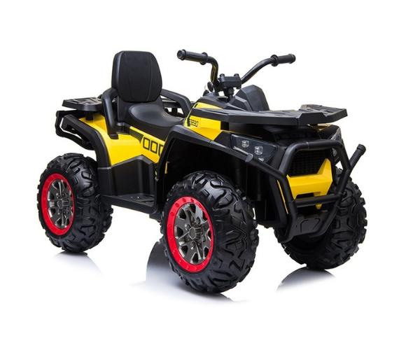 Laste elektriline ATV Quad XMX607, kollane
