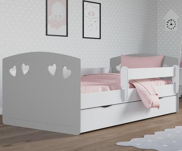 Lastevoodi 'Julia' voodikastiga 80x180