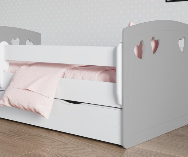 Lastevoodi 'Julia' voodikastiga 80x160 (2)